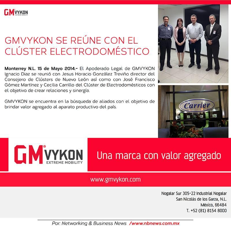 GMVykon se reúne con el clúster electrodoméstico