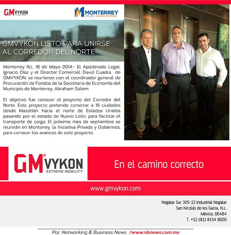 GMVykon y la Secretaria de Economía del Municipio de Monterrey