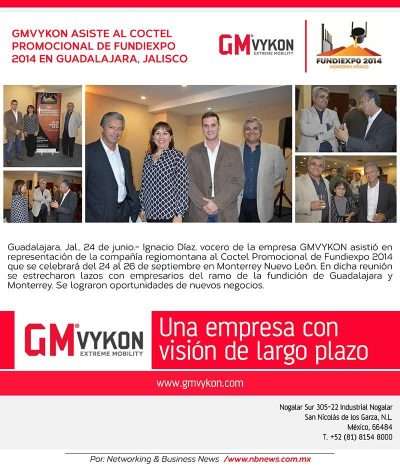 Gmvykon haciendo presencia en Fundiexpo Guadalajara