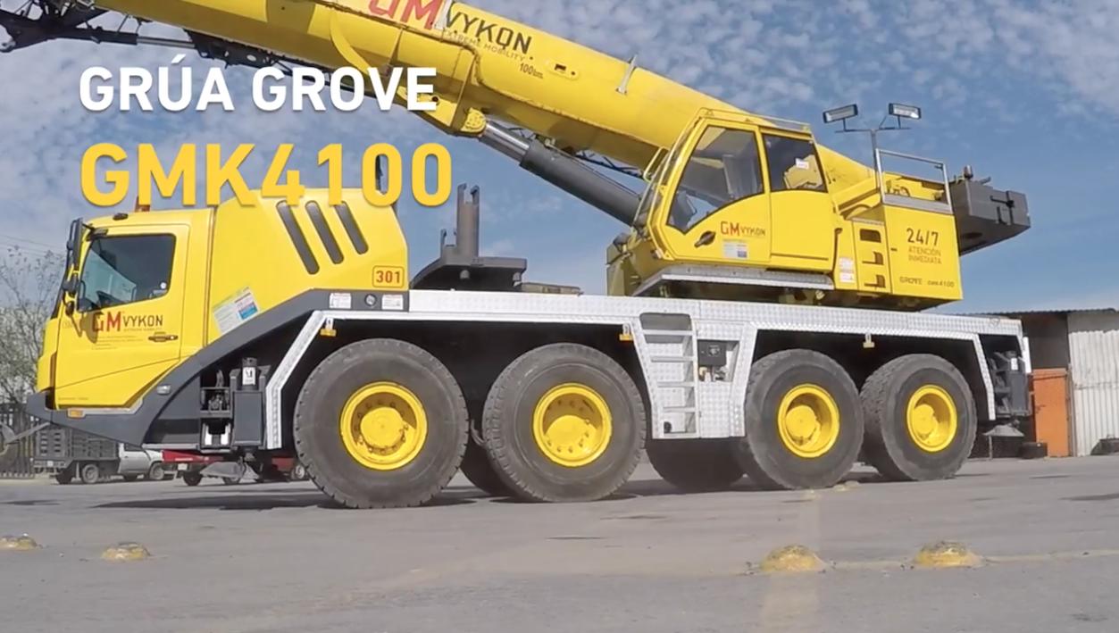 Conoce nuestra Grúa Grove GMK 4100