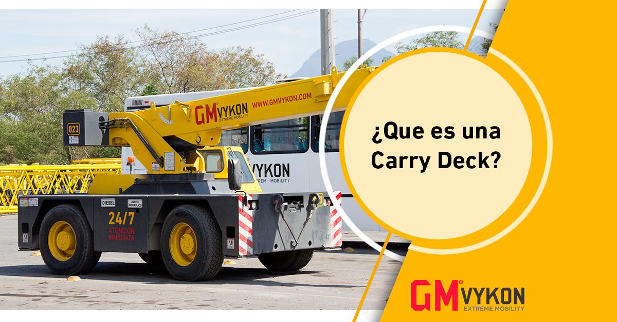 ¿Qué es una Carry Deck?