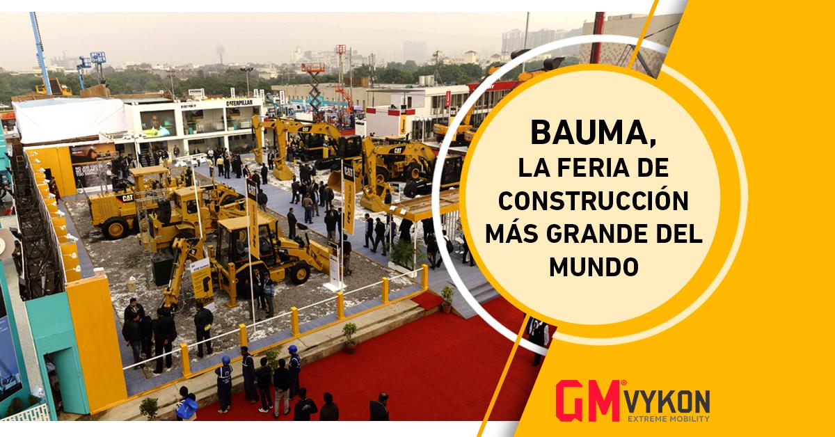 BAUMA 2019, la feria de construcción más grande del mundo.