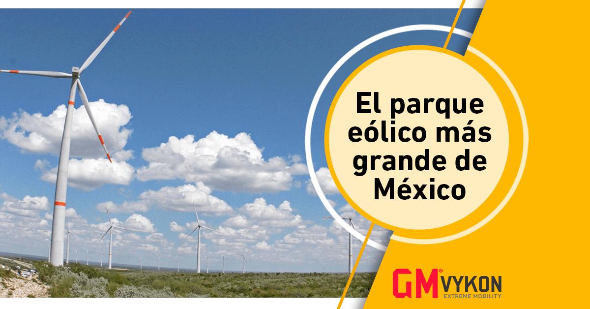 Reynosa I, el parque eólico más grande de México.