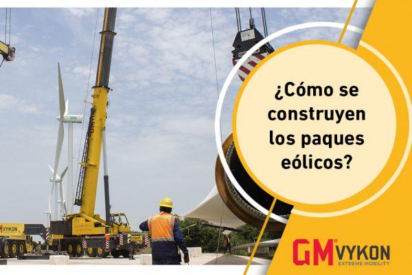 Construcción de parque eólicos