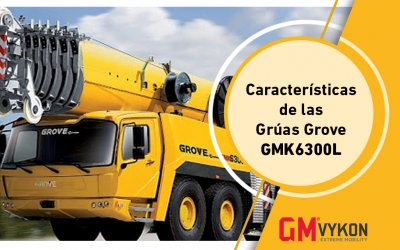 Grúas Grove GMK6300L