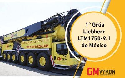 Grúa Liebherr LTM1750-9.1