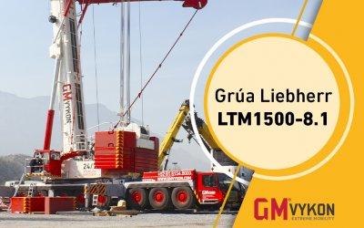 Grúa Liebherr LTM1500-8.1