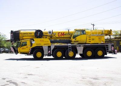 GMK5250L - GMVykon Grua 250